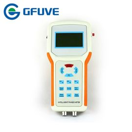 Gf211b Double Channel Power Quality Analyser Phase Angle Meter With 3.7v Batteries